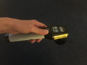 This is the hand-held LTU 904 laser