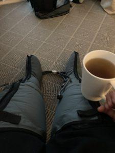 leg pumping