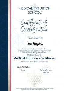 Medical Intuition Practitioner Qualification